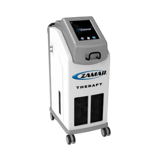 heat therapy unit / cryotherapy unit / trolley-mounted