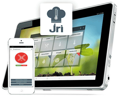 temperature datalogger iOS application