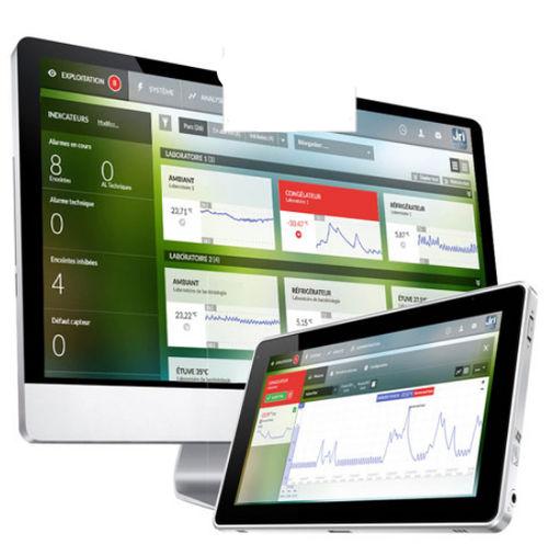 temperature datalogger web application
