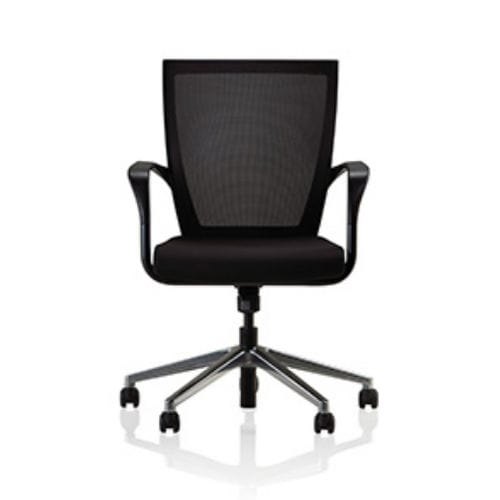 office chair / on casters / with armrests / rotating
