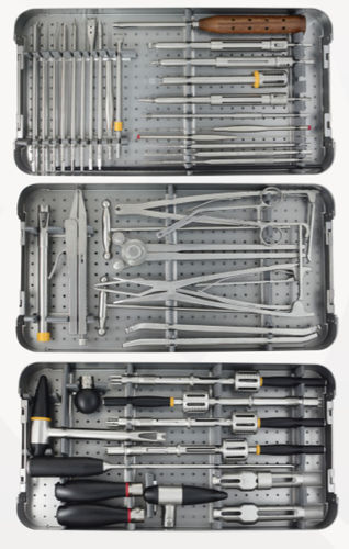 spinal osteosynthesis surgery instrument kit