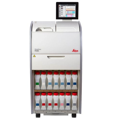 histology laboratory sample processor / tissue / compact / with touchscreen