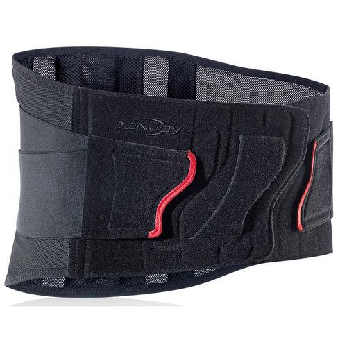 lumbo-sacral support belt / adult / semi-rigid