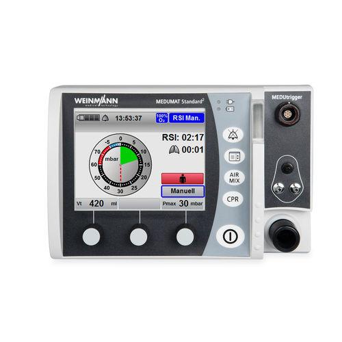 pneumatic ventilator / resuscitation / emergency / transport