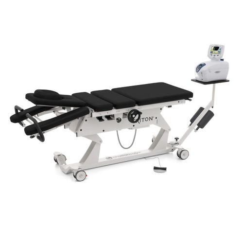lumbar and cervical traction table