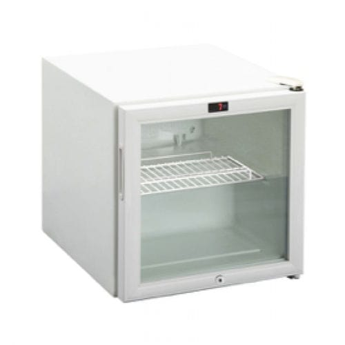pharmacy refrigerator / cabinet / with automatic defrost / with glass door