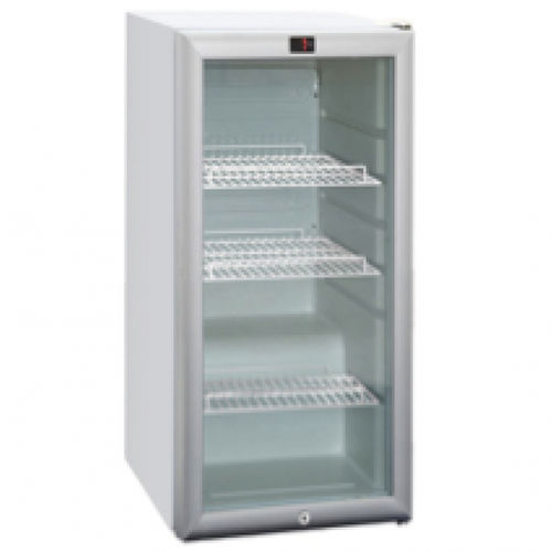 pharmacy refrigerator / vertical / with automatic defrost