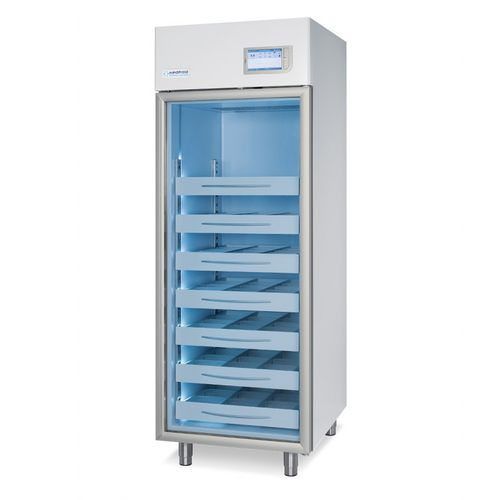 blood bank refrigerator / cabinet / with automatic defrost