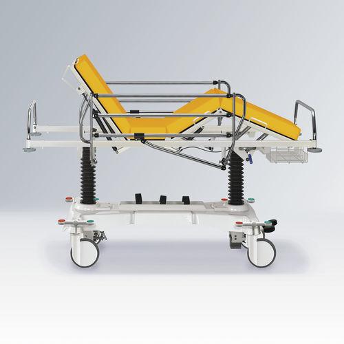transport stretcher trolley / manual / Trendelenburg / reverse Trendelenburg