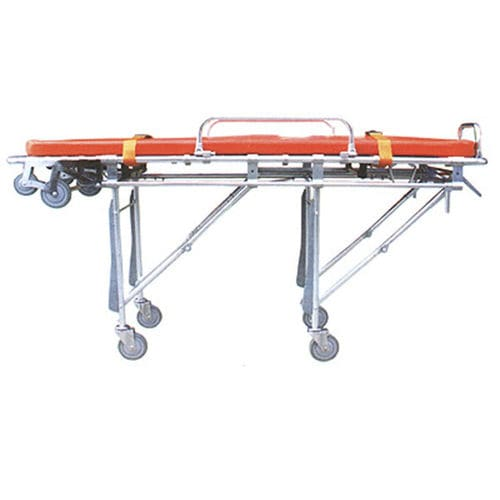 emergency stretcher trolley / manual / 1-section