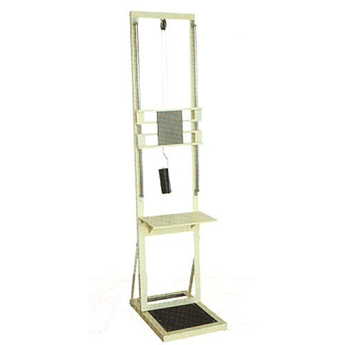 floor-standing height rod