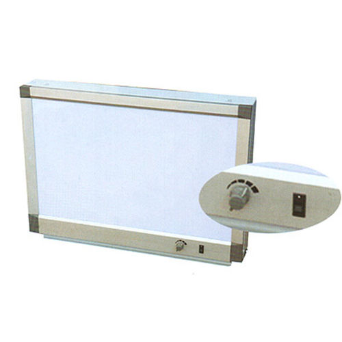 1-screen X-ray film viewer / with switch / adjustable brightness / white light