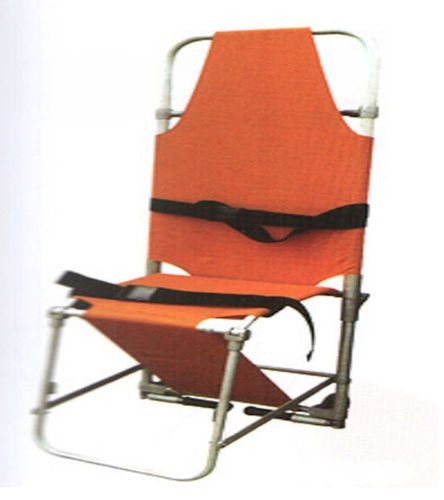 folding stretcher chair / 3 sections