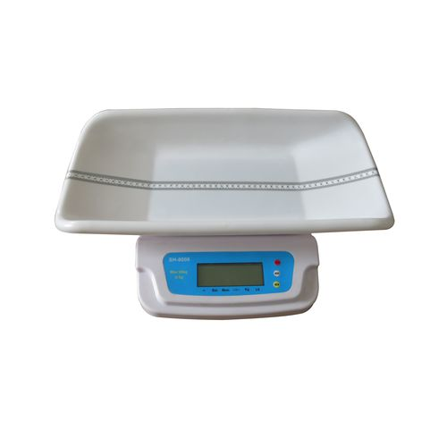 electronic baby scale / with LCD display / tabletop