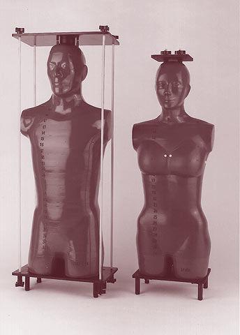 radiation therapy test phantom / head / abdomen / torso