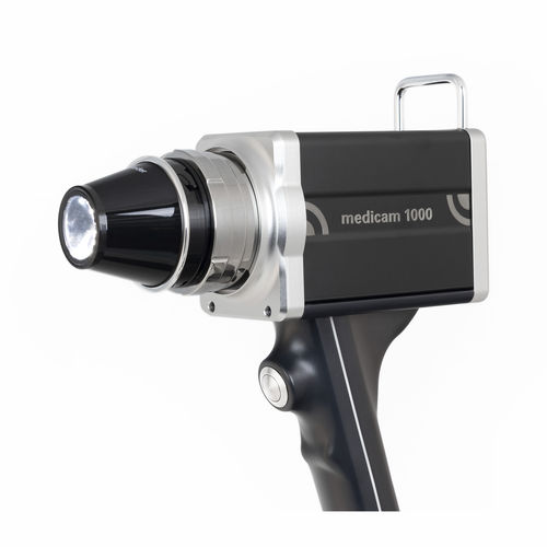 video dermatoscope / white LED / Full HD / computer-based