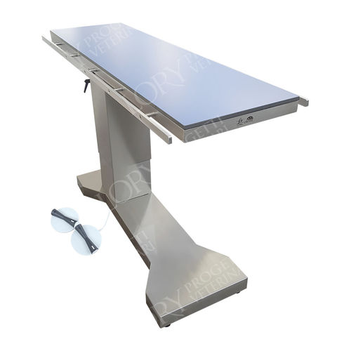 orthopedic veterinary operating table / electric / radiolucent / height-adjustable