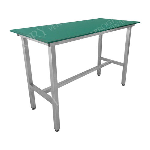 veterinary examination table / fixed-height / 1 section / radiolucent