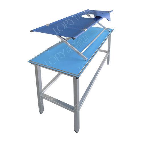 veterinary examination table / folding