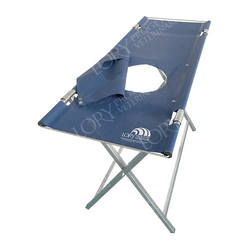 veterinary examination table / for echocardiography / manual / fixed-height