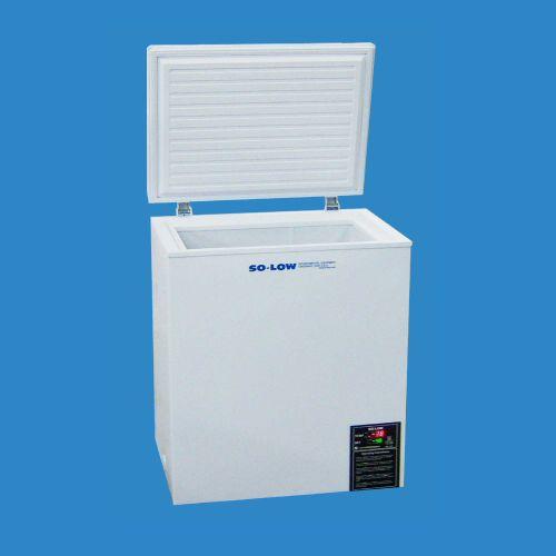 laboratory freezer / chest / with manual defrost / 1-door