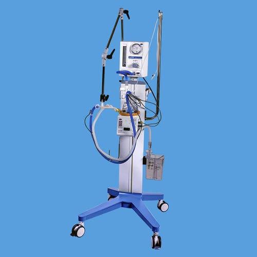 electronic ventilator / resuscitation / infant / CPAP