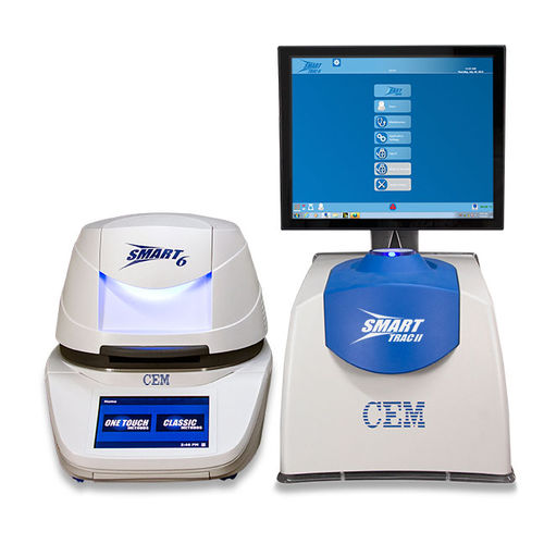 electronic moisture analyzer / with digital display / bench-top
