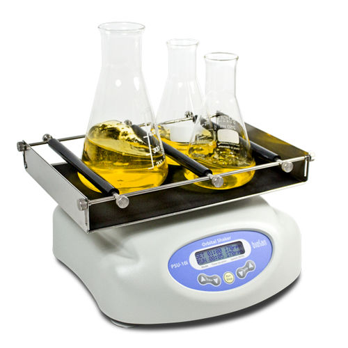 orbital laboratory shaker / digital / for cell culture / benchtop