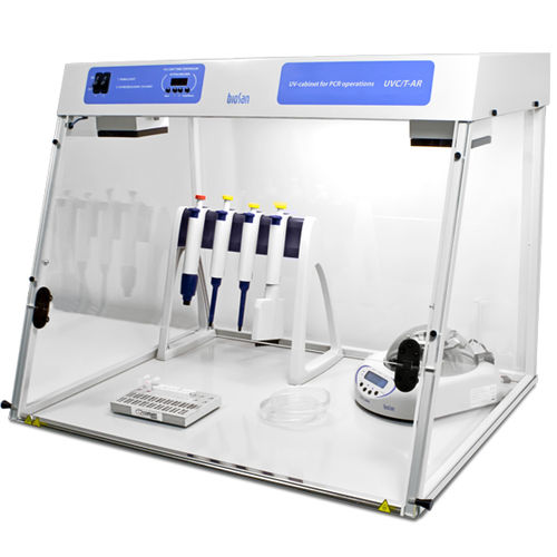 UV clean bench / for DNA and RNA preparation / for clean rooms / decontamination
