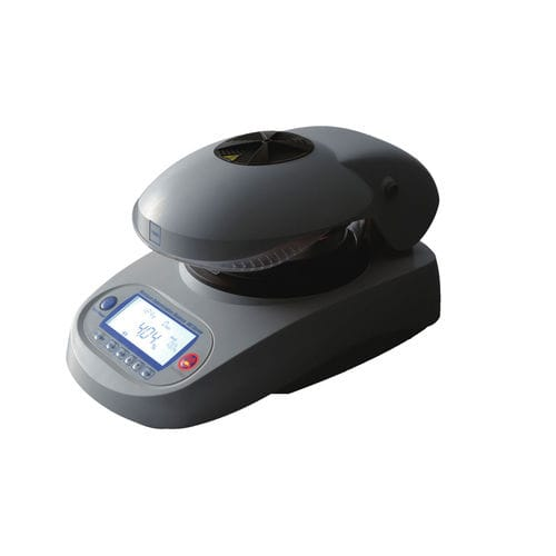 digital moisture balance / infrared / with LCD display / benchtop