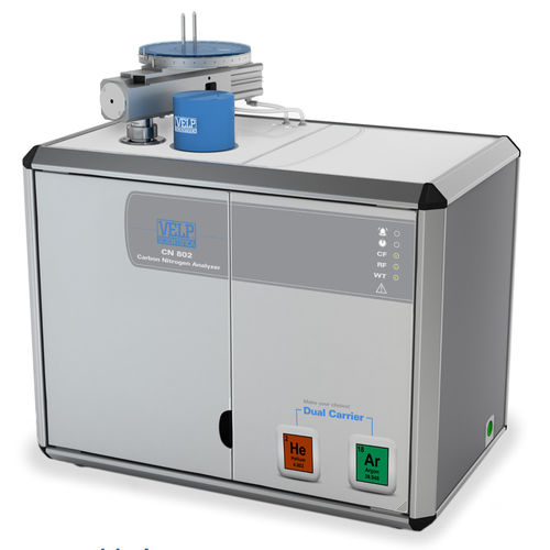 carbon analyzer / nitrogen / laboratory / benchtop