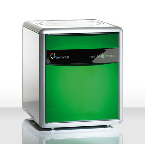 bench-top protein analyzer / for the food industry / laboratory / Dumas method