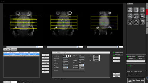 validation software / preclinical / for MRI / clinical