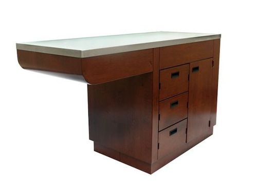 veterinary examination table / minor surgery / fixed-height / 1 section
