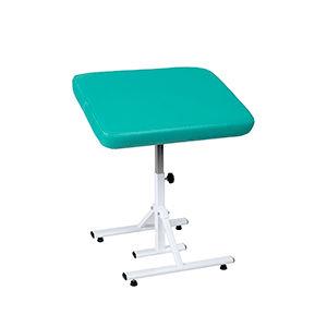 height-adjustable footstool