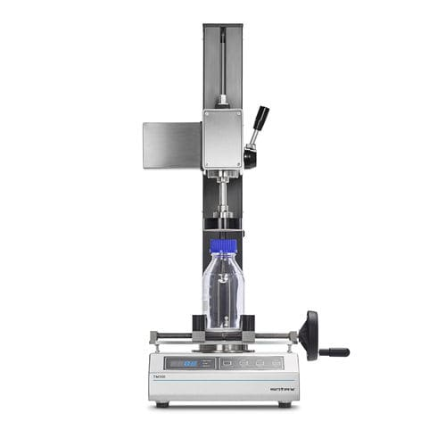 pressure tester / torque / for caps / for the pharmaceutical industry