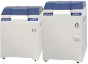 medical autoclave / vertical / floor-standing / automatic