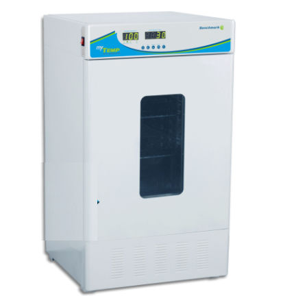 forced air laboratory incubator / BOD / floor-standing / compact