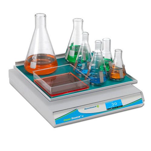 orbital laboratory shaker / digital / bench-top