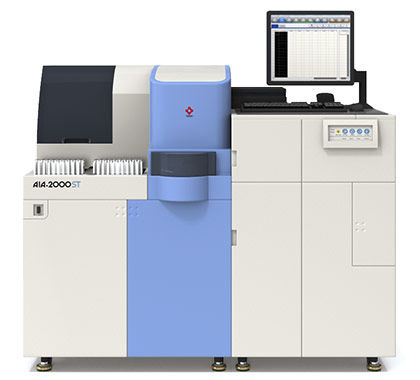 automatic immunoassay analyzer / for clinical diagnostic / floor-standing / enzyme immunoassay