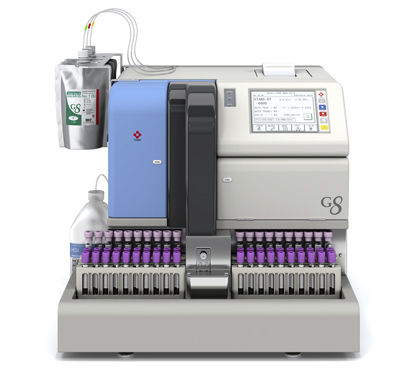 automatic HbA1c analyzer / for clinical diagnostic / benchtop