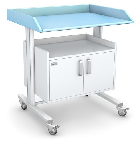 worktop with storage unit / on casters / modular