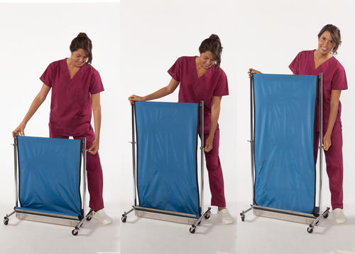 X-ray radiation shielding curtain / mobile