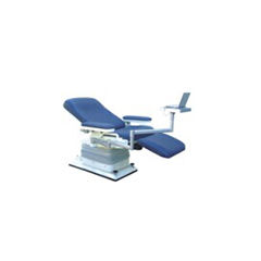 manual blood donor chair / 3-section / with legrest