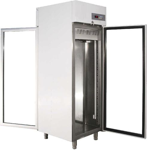 pass-through laboratory incubator / cooling / stainless steel