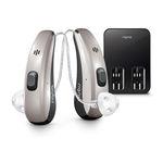 mini RIC hearing aid / remote-controlled