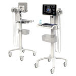 portable, with trolley ultrasound system / for anesthetic and intensive care ultrasound imaging / for emergency medicine ultrasound imaging / B/W
