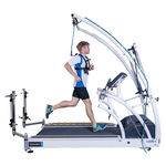 treadmill with harness system