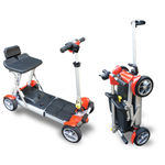 4-wheel electric scooter