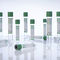 plasma analysis collection tube / round bottom / blood / separator gel